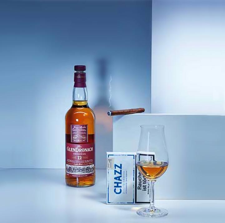 Zigarre in Kombination mit Whisky: CHAZZ und GlenDronach