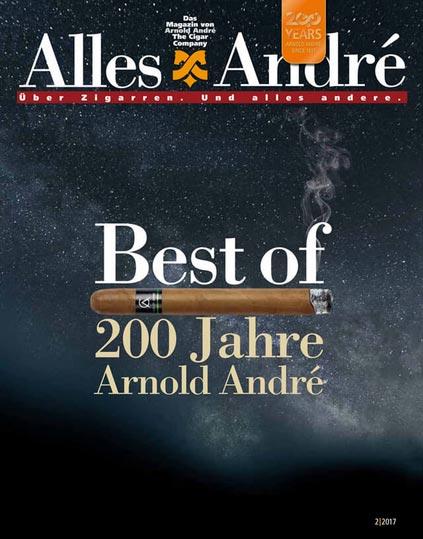 Zigarren-Magazin zum 200-jährigen Jubiläum von Arnold André