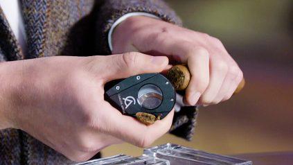 Zigarren anschneiden