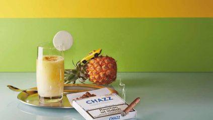 Chazz Cigarros & Spicy Ananas Drink