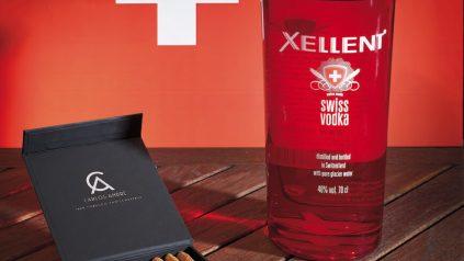 Carlos André Cigarillo & Xellent Swiss Vodka