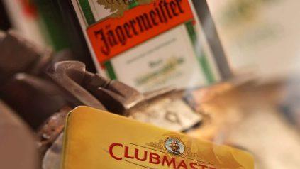 Zigarren und Spirituosen