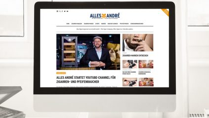 Alles André startet neue Website