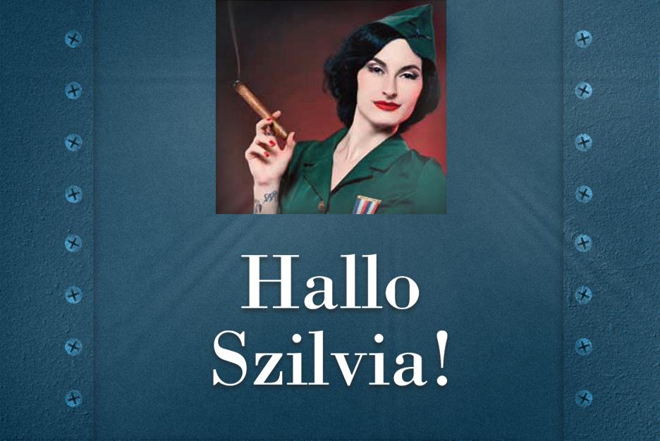 Frau Szilvia hilft weiter