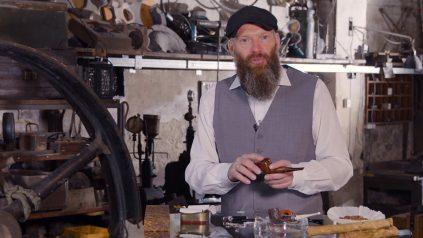 Neues Video: Pfeife stopfen mit Flake und Roll Cake Tabak