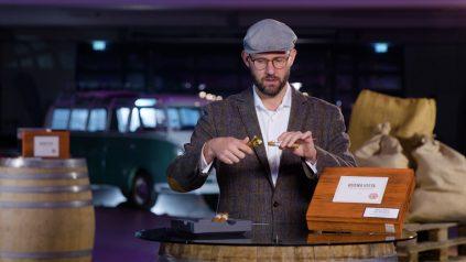 Neues Video: Zigarre anschneiden mit Kerbschneider und Schere