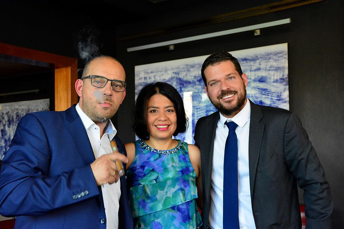 50 Jahre Joya de Nicaragua - Feier zum Jubiläum in der Newton Bar in Berlin