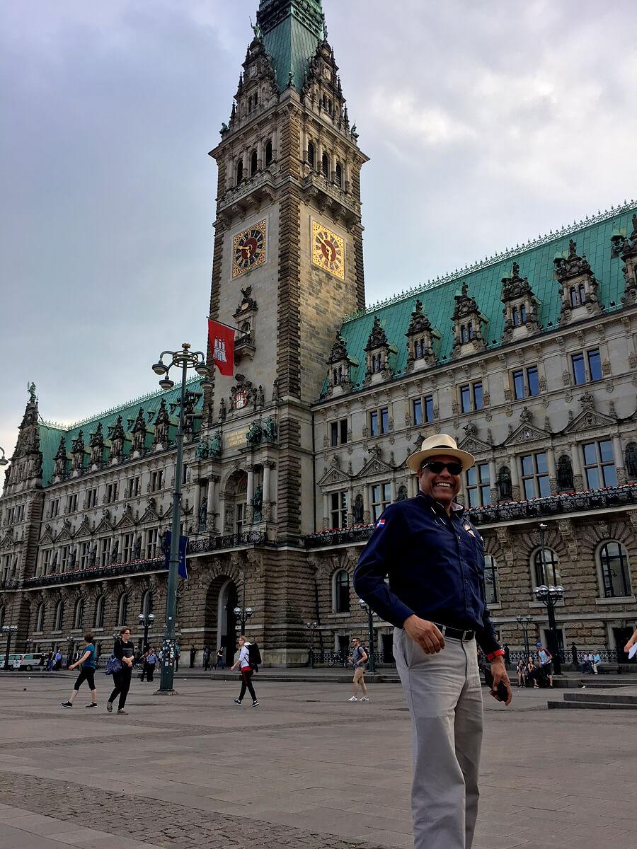 Manuel Inoa von La Auroa in Hamburg