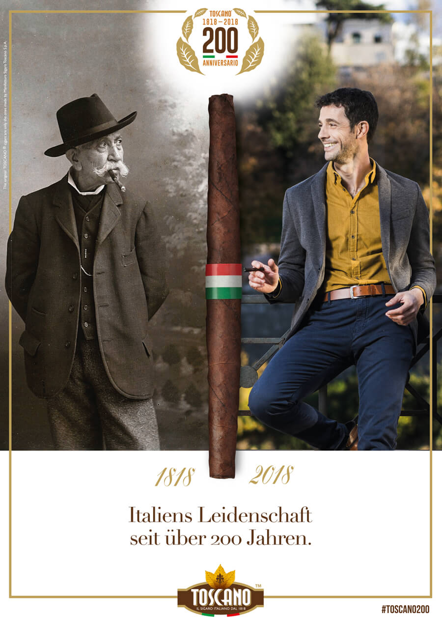 200 Jahre Toscano - Jubiläum der italienischen Zigarrenmanufaktur