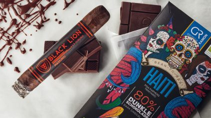 Black Lion Maduro Robusto & Schokolade Haiti 80 %