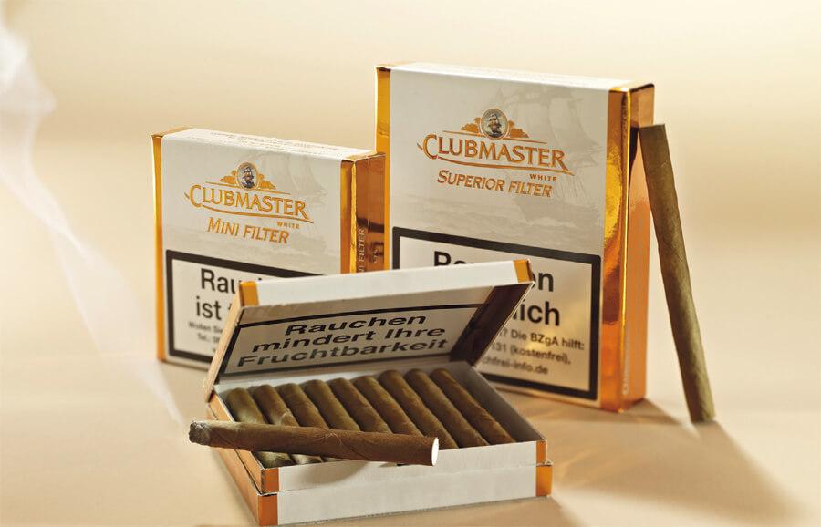 Clubmaster White: Wunderbar locker, leicht süßlich, mit einem Touch von Kakao