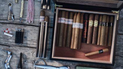 Das optimale Genuss-Set für Pfeifen- und Zigarrenraucher