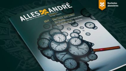 """Inhaltsverzeichnis zur Ausgabe """"Zeit"""" von Alles André"""