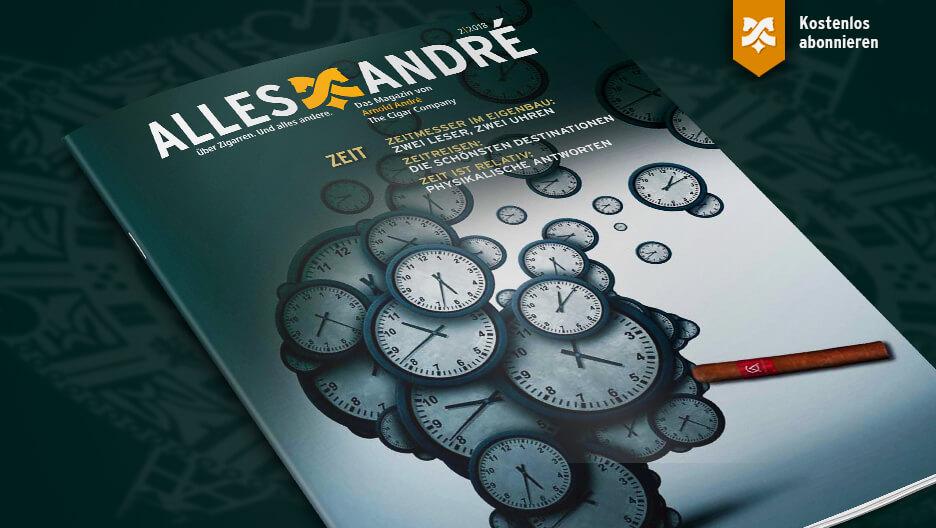 Inhaltsverzeichnis Alles André Magazin zum Thema Zeit
