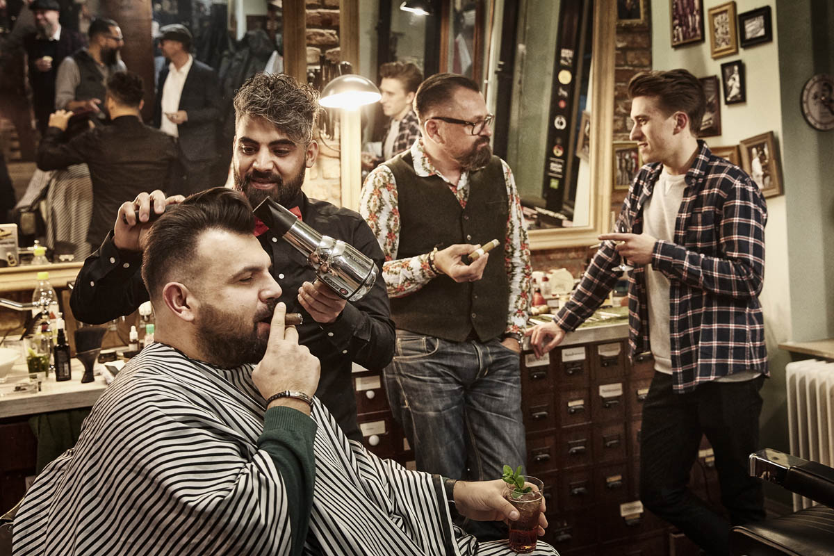 Männerabend im Barbershop Cologne