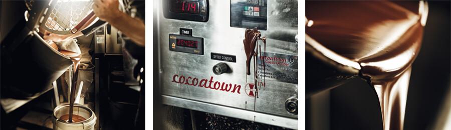 Schokoladen-Herstellung