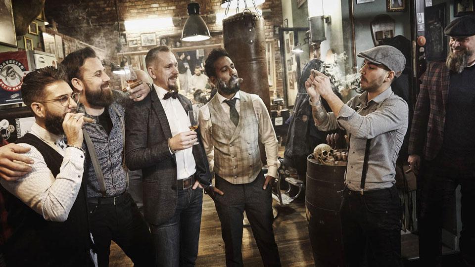 Männerabend mit Cutter & Schere: Genießertreff im Barbershop