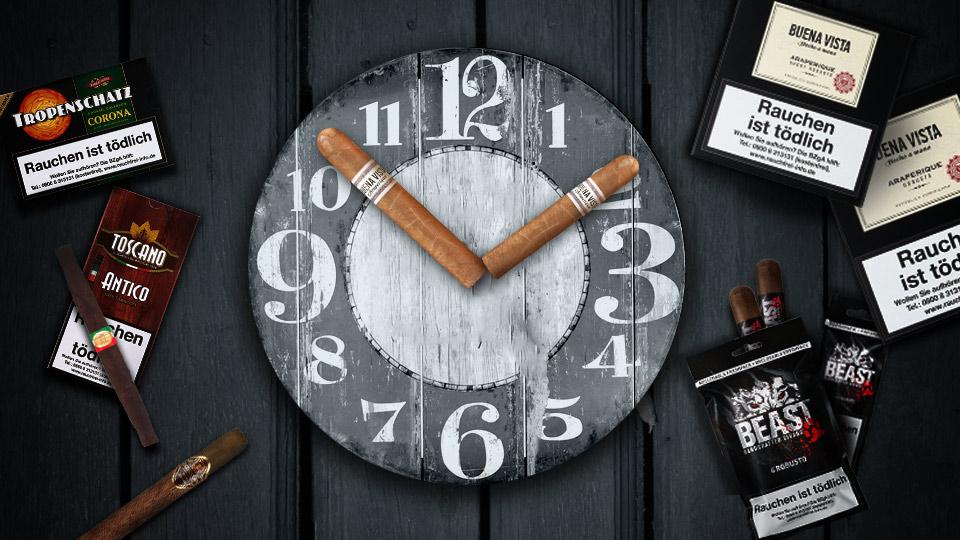 Wie lange raucht man eine Zigarre? Über die Rauchdauer von Zigarren