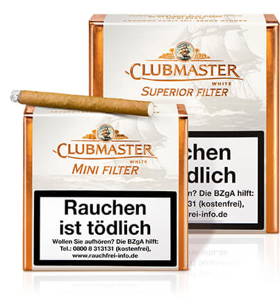 Clubmaster White