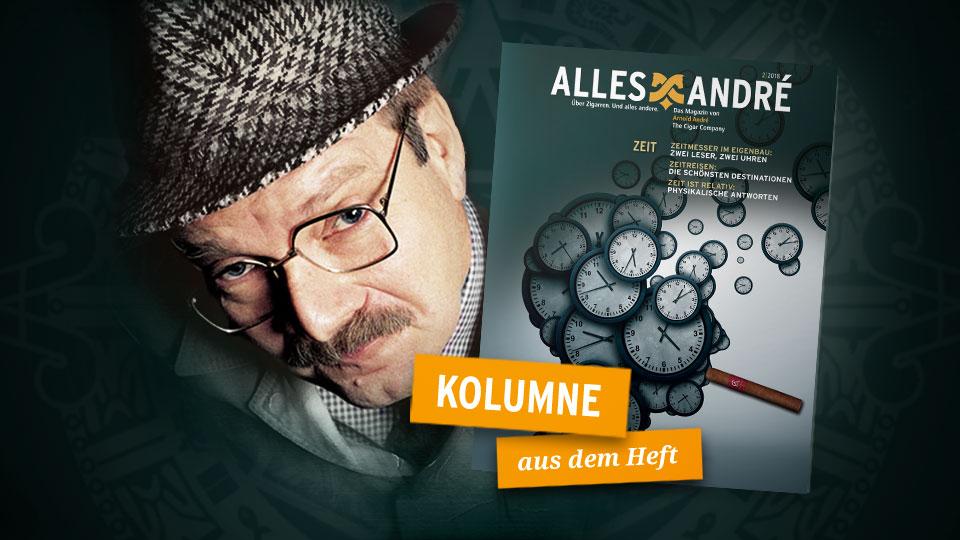 Herr Heuser Kolumne Zeit