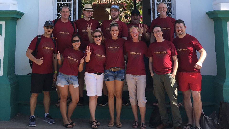 Zu Besuch in Nicaragua