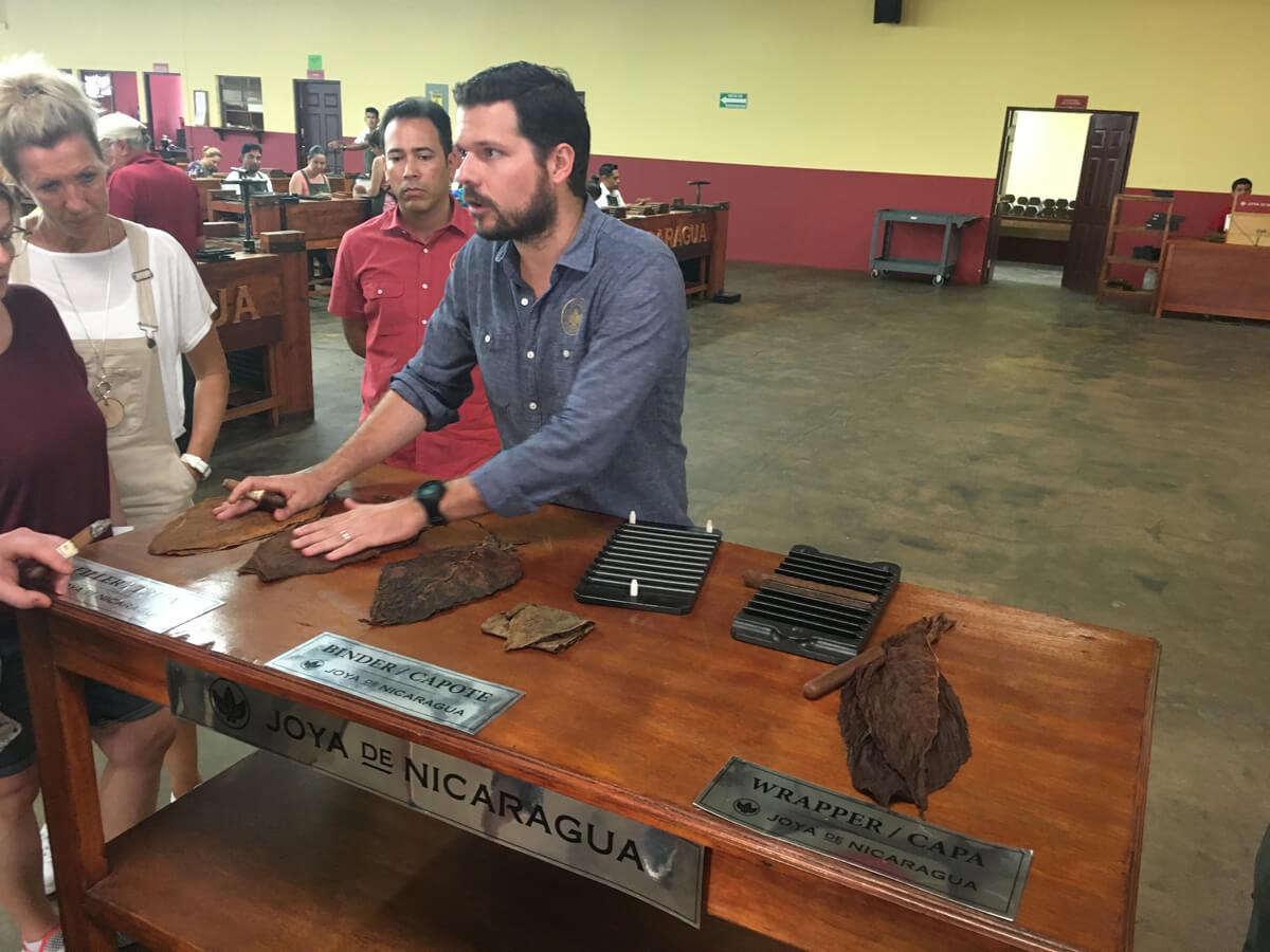 In der Zigarrenmanufaktur Joya de Nicaragua