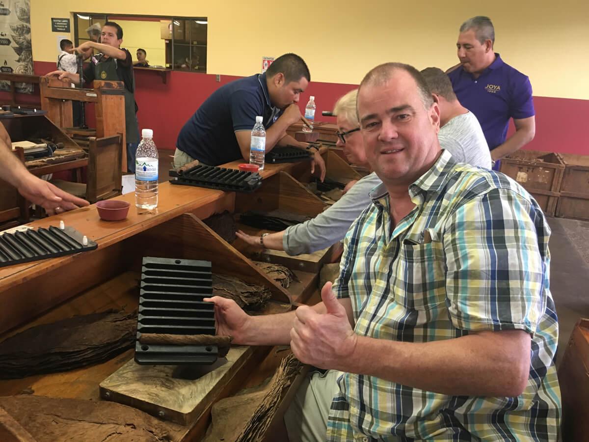 Besuch in der Zigarrenmanufaktur in Nicaraguar