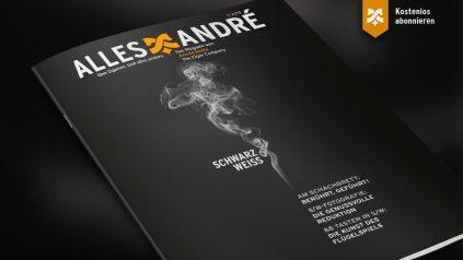 """Inhaltsverzeichnis zur Ausgabe """"Schwarz-weiß"""" von Alles André"""