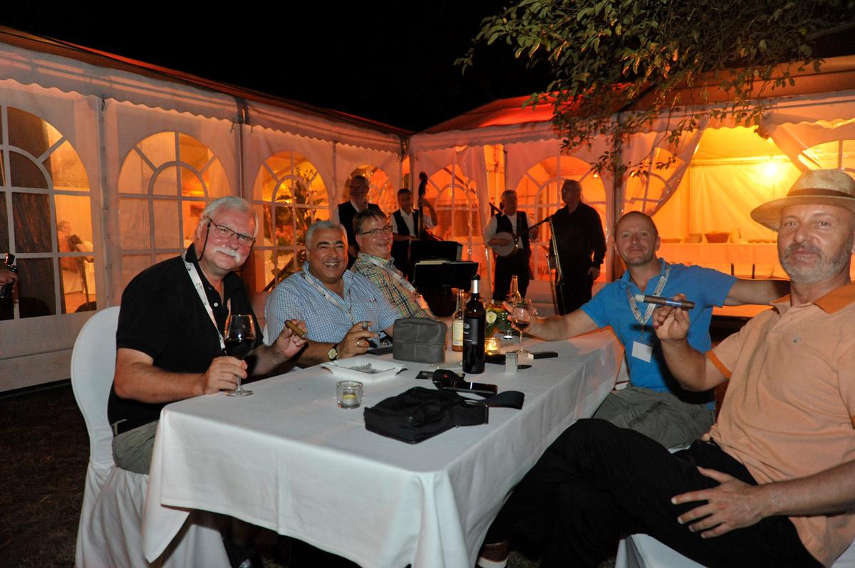 Abends beim Deutschen Cigarrentag
