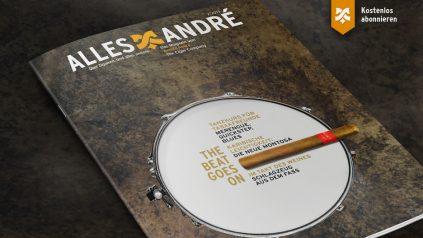 """Inhaltsverzeichnis zur Ausgabe """"The beat goes on"""" von Alles André"""