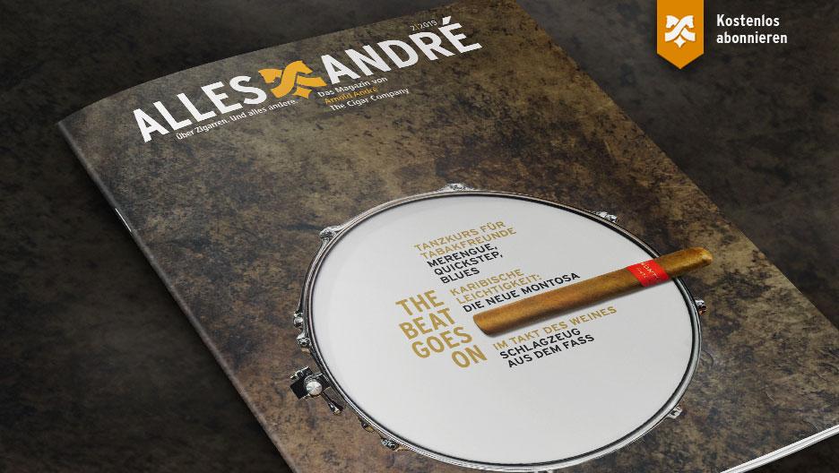 Inhaltsverzeichnis Alles André Magazin zum Thema The beat goes on