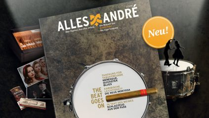 """The beat goes on"" – Neue Ausgabe vom Alles André Magazin"