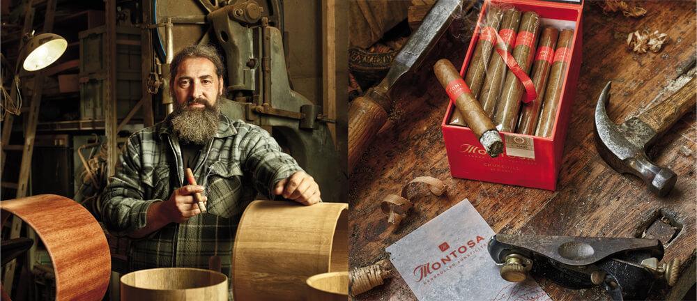 """""""Was für eine tolle Zigarre!"""" Boris Ritscher ist von der Montosa begeistert."""