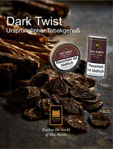 Dark Twist - ursprünglicher Tabakgenuss