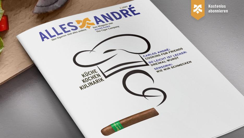 Inhaltsverzeichnis Alles André Magazin zum Thema Küche, Kochen, Kulinarik