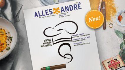 """""""Küche, Kochen, Kulinarik"""" – Neue Ausgabe vom Alles André Magazin"""