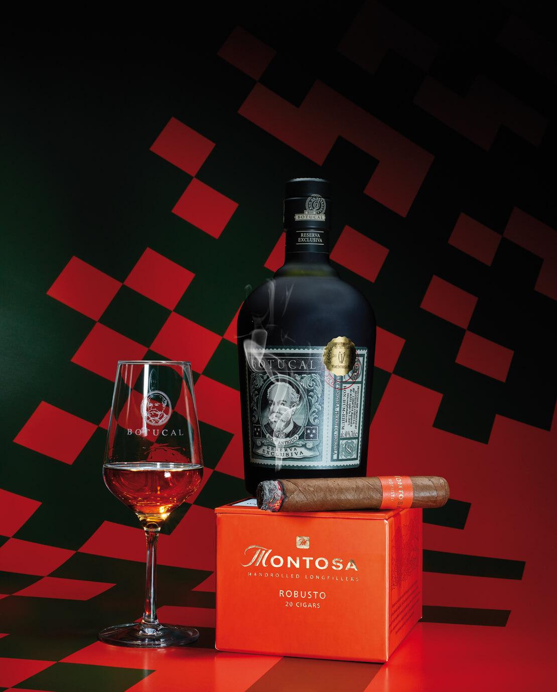 Rum und Rauch in Kombination - Montosa Robusto und Rum Botucal Reserva Exclusiva