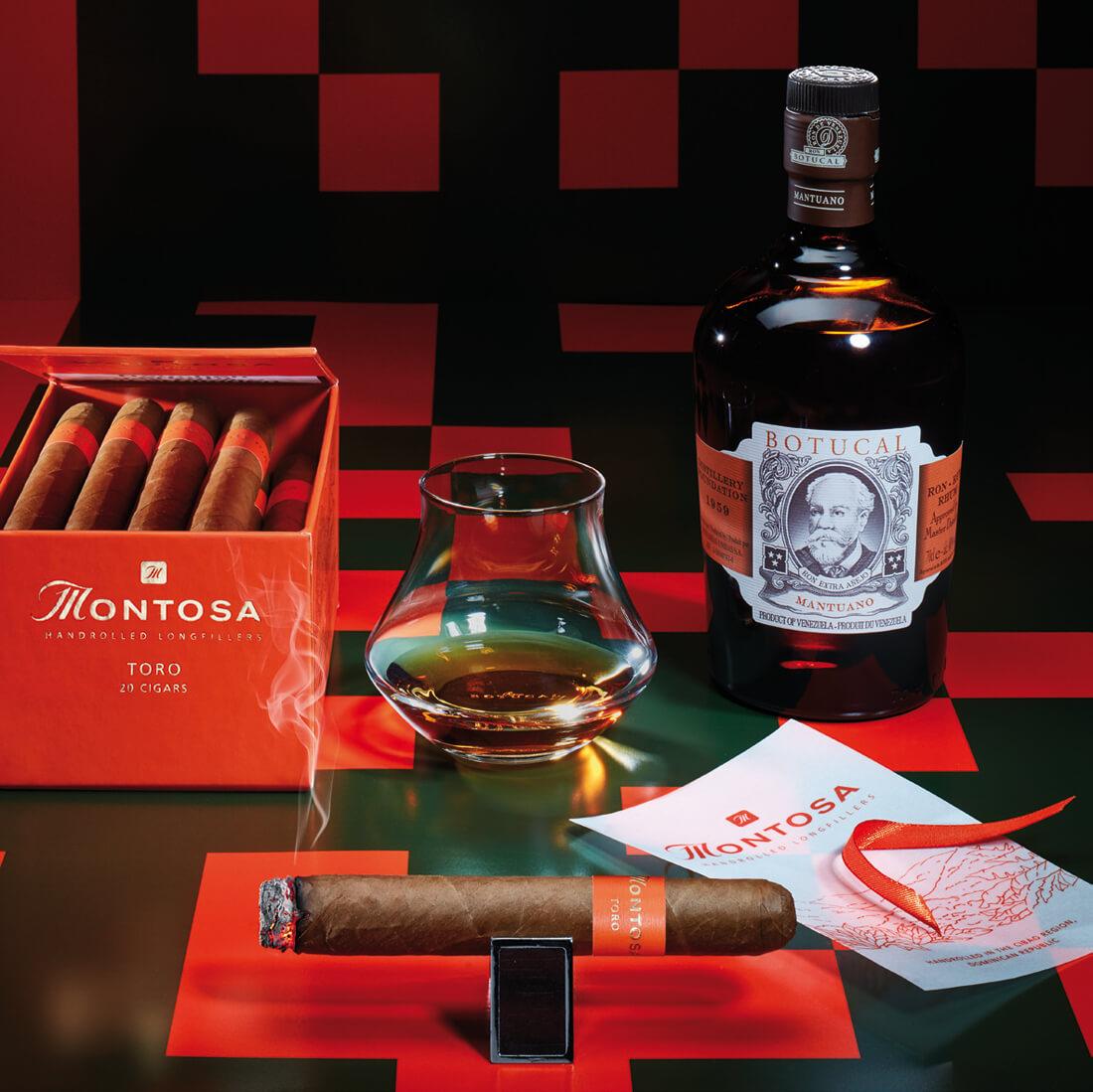 Die Genusskombination: Montosa Toro und Rum Botucal Mantuano
