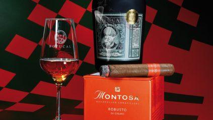 Montosa Robusto und Rum Botucal Reserva Exclusiva
