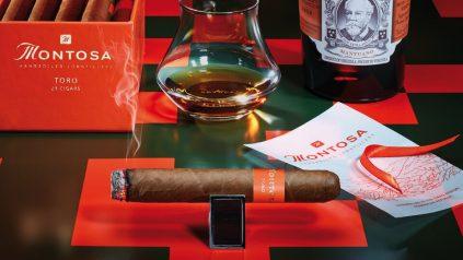 Montosa Toro und Rum Botucal Mantuano