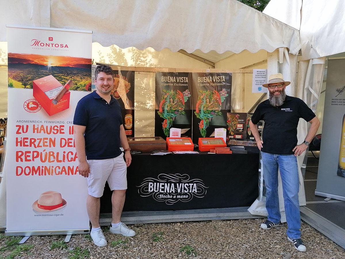 Sommerliches Spektakel in Gilten mit Weltpremiere Montosa Mini Cigarillo