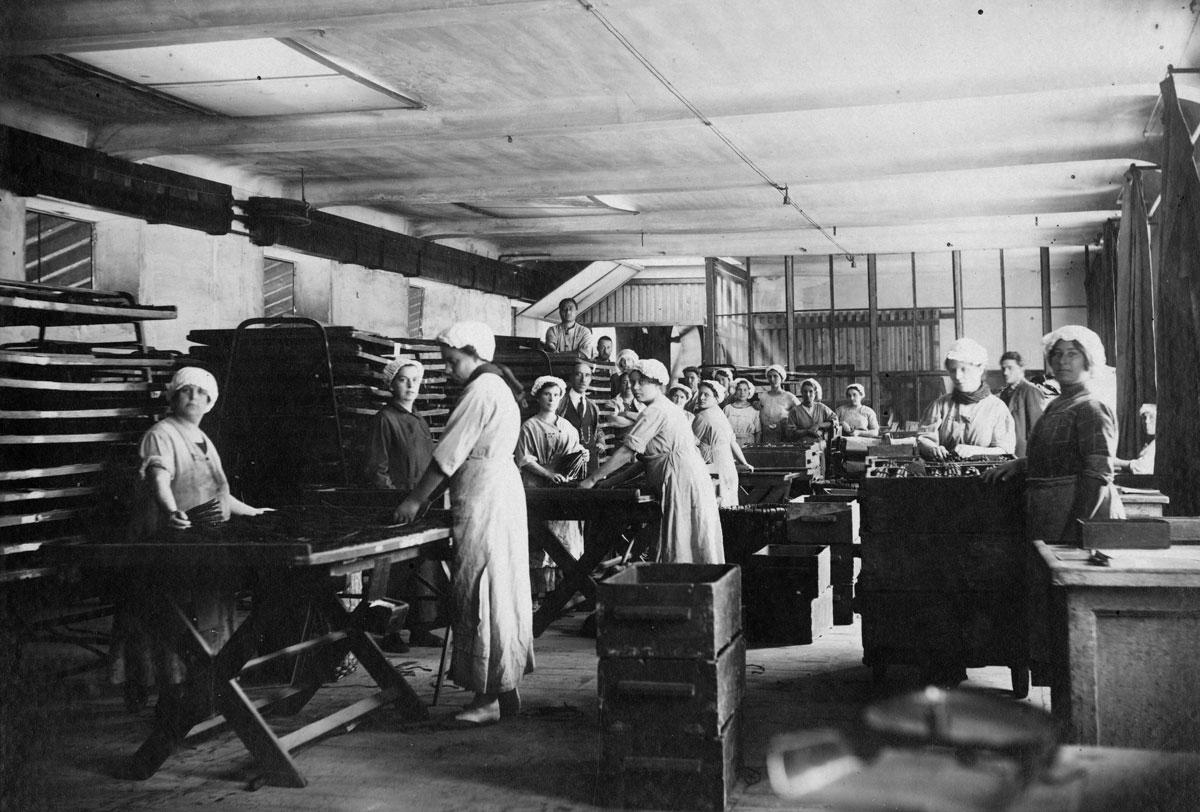 TOSCANO Manufaktur in 1925 in Lucca, Italien