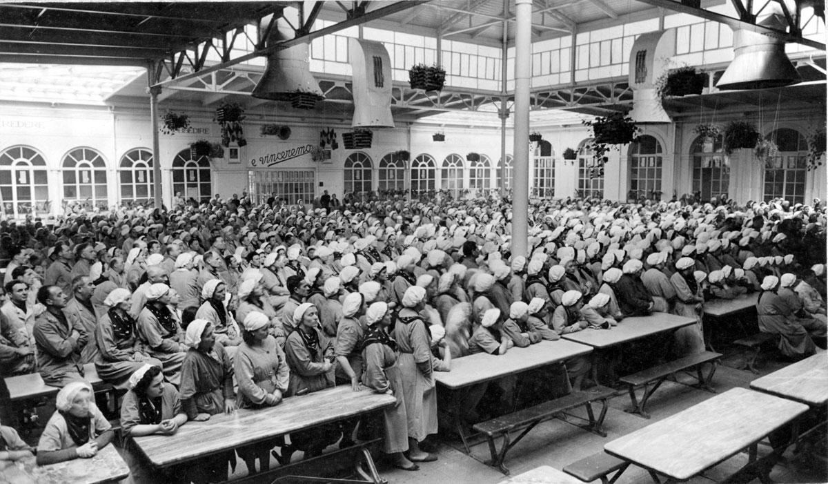 Toscano Mitarbeiter bzw. Persnoal im Jahr 1941 in Lucca