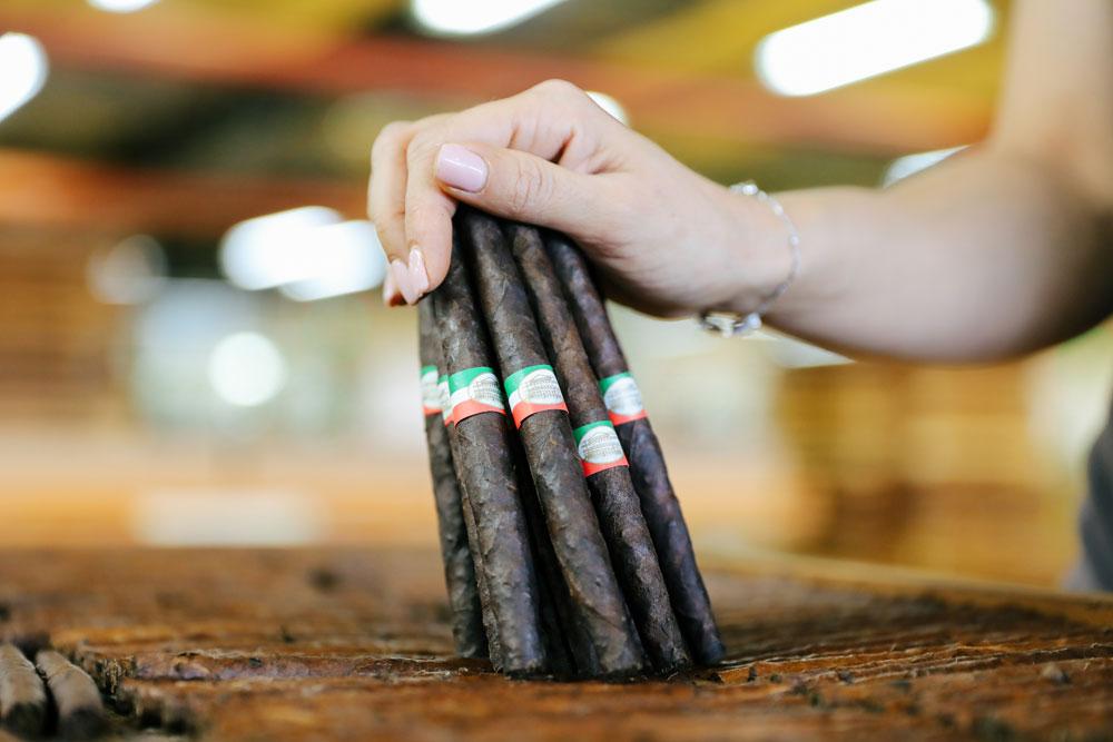 Toscano Zigarren in der Manufaktur