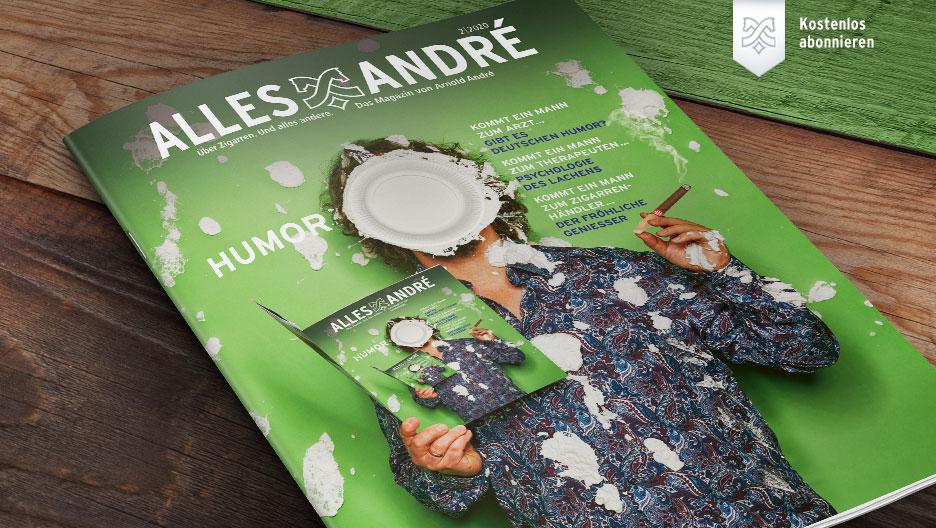 Inhaltsverzeichnis Alles André Magazin zum Thema Humor