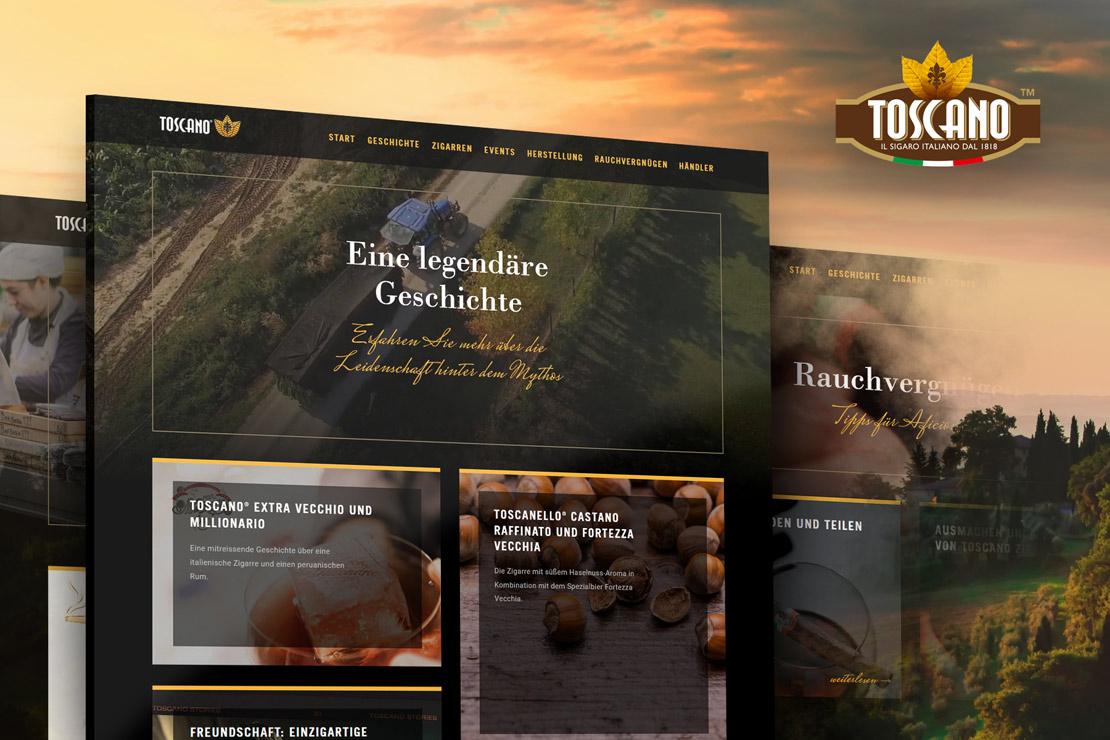 TOSCANO-Zigarren in Deutschland