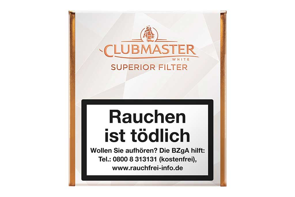 Clubmaster Superior Filter White